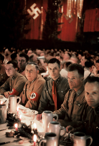 04 Scene from a Christmas party in Munich thrown by Adolf Hitler for his generals, 1941