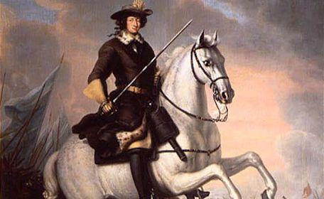 Karl XI på sin häst Brilliant