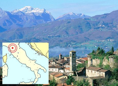 Garfagnana i nordvästra Italien var en del av den sista tyska försvarslinjen som gick tvärs över Italien och kallades Gotiska linjen.