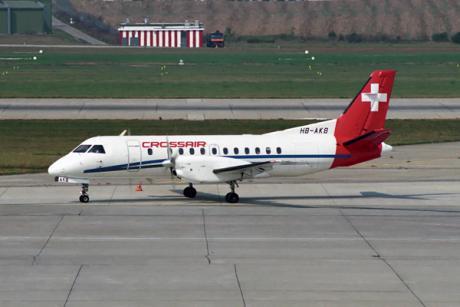 SAAB 340 i Crossairs färger.