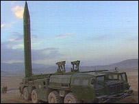 Scud-missiler mot Israel och Saudiarabien.