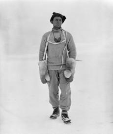 Tryggve Gran i Antarktis 1911.