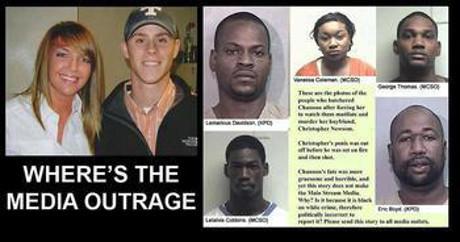 """Frågor av denna typ förekom flitigt under den tid då media tystade ner händelsen. Media kontrade med att """"rasistiska"""" krafter """"utnyttjar"""" mordet."""