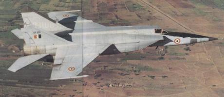 Irakisk MIG-25.