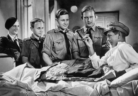Scen ur filmen Hitlerjunge Quex