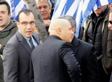 Giorgos Germenis och Panos Iliopoulos arreterades under gårdagen av atensk polis.