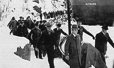 Stupade tyska sjömän från Altmark