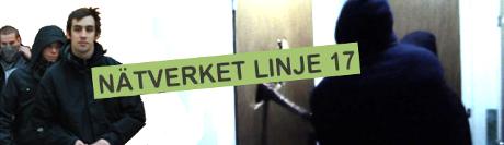 Nätverket Linje17 innefattar vänsterextrema våldsverkare.