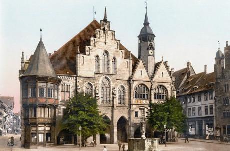Stadshuset i Hildesheim