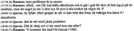 för få i rf stockholm