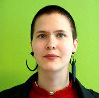 Vänsteretremisten Lilly Svahn.
