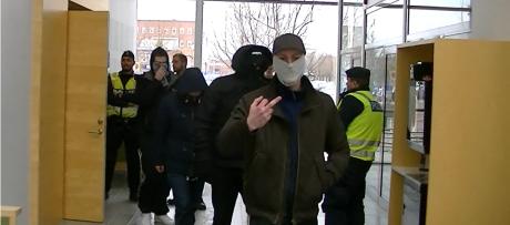 Nick Staffas och andra vänsterextremister.