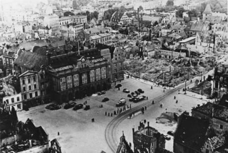 Rostock efter 1945.