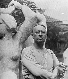 Gustav Vigeland 1929.