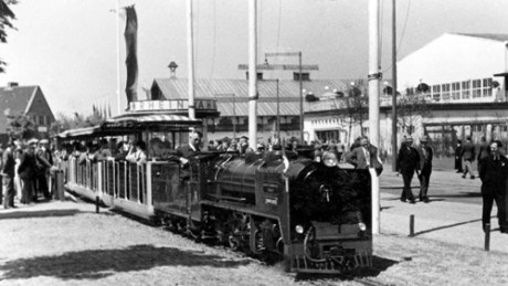"""""""Rheinbahn Lilliputbahn"""" för barn."""
