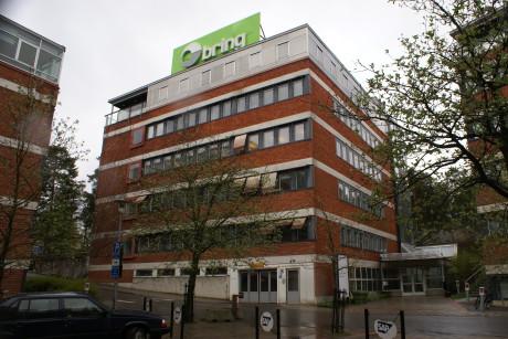 EXPO:s högkvarter: på våning 4 och våning 6 pågår åsiktsregistrering av svenskar. Foto: Nordfront.