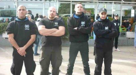Grigoris Georgitsopoulos står näst längst till höger i bild. Foto: Privat.