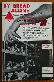 Omslaget till Mermersteins bok. Den inringade personen ska vara Mermerstein själv.