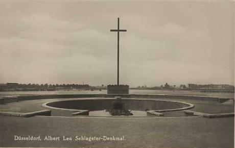 Schlageter Denkmal i Düsseldorf.