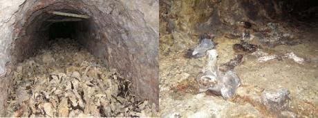 En massgrav i Huda Jama, Slovenien, hittades 2009. Massakern inleddes i österrikiska Bleiburg och intensifierades när flyktingarna kommit över den jugoslaviska gränsen.
