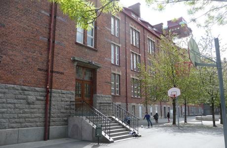 """Johannesskolan i Malmö. Det var här som jag fick lära mig om """"Förintelsen"""" för första gången."""