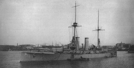 Leveransklart fartyg år 1917