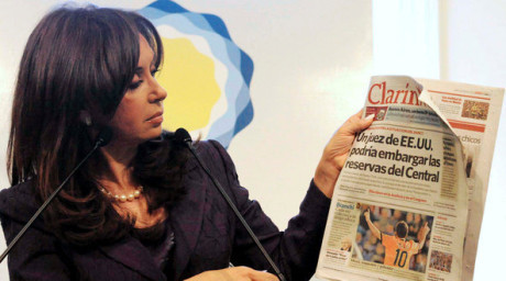 Cristina Fernández de Kirchner, Argentinas president.