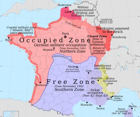 Frankrike efter freden (klicka för större)