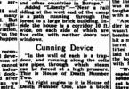 The Mail Adelaide ger i september 1943 ytterligare upplysningar om hur ångkamrarna användes. Klicka för större bild.