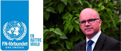 Aleksander Gabelic är ordförande för Svenska FN-förbundet.