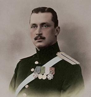 Gustaf Mannerheim 1904, som generalmajor i den ryska armén