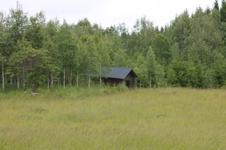 Stugan där det sägs att Vasa bodde under sin vistelse i Isala.