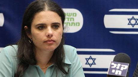 Ayelet Shaked  - en folkmordsförespråkande judinna.