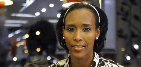Den somaliska islam-kritikern Mona Walter