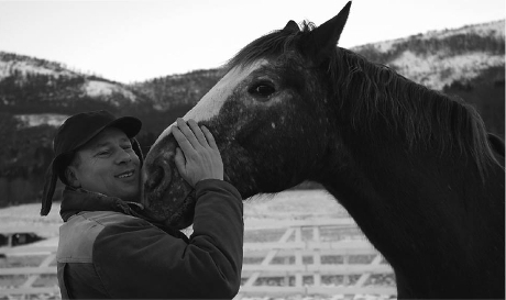 Stefan Forsman har utvecklat en egen skola för bättre hästhantering.
