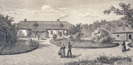 Hegelstena gård i Uppland