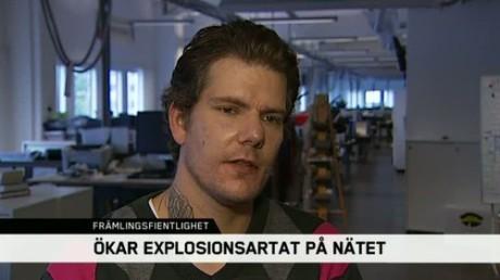 Kim Fredriksson.