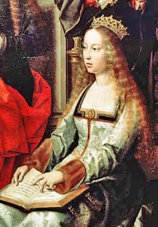 Drottning Isabella.
