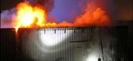 Moskébrand i Norrköping