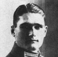 Rudolf Hess som soldat under första världskriget.