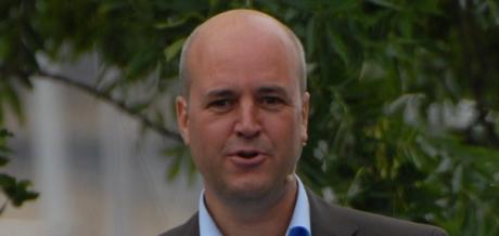 Bilderberg-agenten Fredrik Reinfeldt.