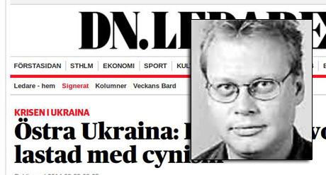 Gunnar Jonsson, ledarskribent på Dagens Nyheter.