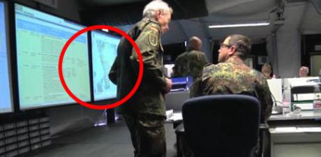 Under NATO-övningen dominerade kartor över södra Sverige.