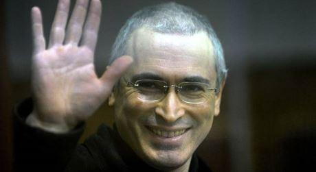 Michail Chodorkovskij, en av initiativtagarna till de Putin-fientliga demonstrationerna.