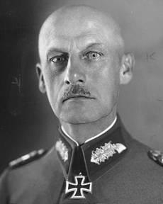Fältmarskalk Wilhelm Ritter von Leeb