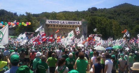 Lega Nord vill bryta loss Padanien från Italien.