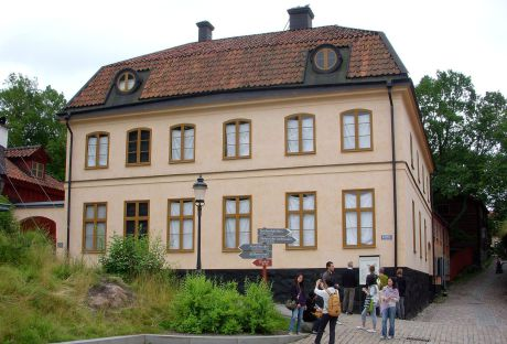 Tottieska malmgården. Malmgården byggdes mellan åren 1765 och 1773.