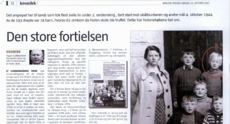 """I Bergen är man mer intresserad av att diskutera """"den stora förtigelsen"""" än i andra delar av Norge."""