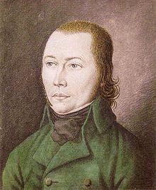 """Johannes Bückler, även känd som """"Schinderhannes""""."""