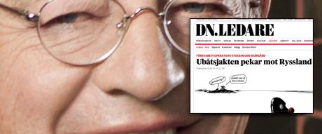 En i sammanhanget intressant person är Carl-Johan Bonnier vars koncern äger halva Sveriges massmedia. Just nu vill han få oss till att kriga mot de elaka ryssarna som inte längre vill lyda judarna i västvärlden.